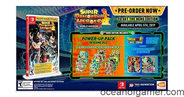 SUPER DRAGON BALL HEROES WORLD MISSION Free Download - Ocean