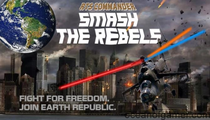 RTS Commander Smash The Rebels