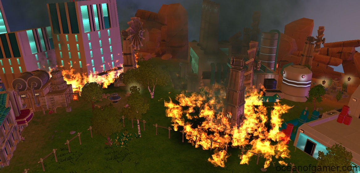 The Universim Burning Skies