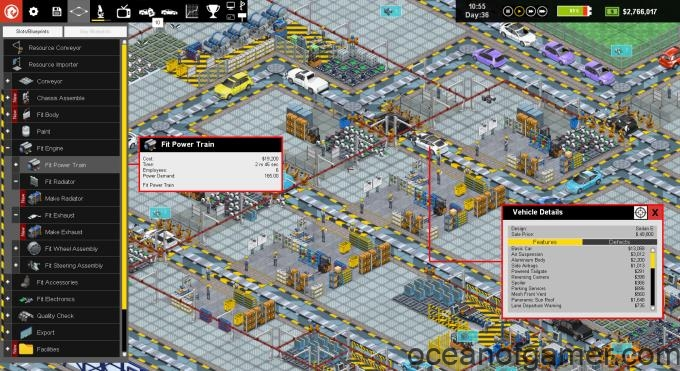 Production Line Car factory simulation v1.72