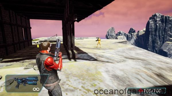 Cyborg Invasion Shooter 3 Savior Of The World