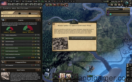 Hearts of Iron IV Man the Guns