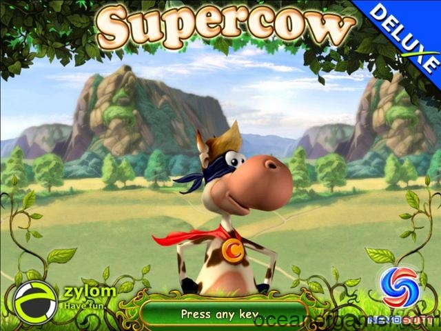 Super Cow Game
